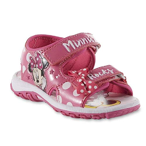 Disney Toddler Girls' Minnie Mouse Sandal (8)]()