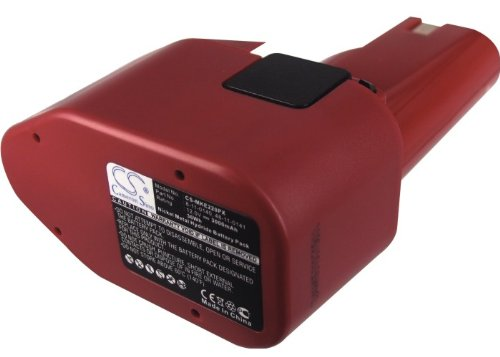 Replacement Battery for Milwaukee 0398-1, 0399-1, 0400-1 Part NO 48-11-0140, 48-11-0141, 48-11-0200 ()