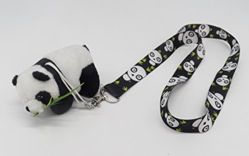 Panda Mascot Lanyard Camera Holder