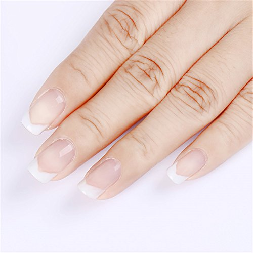 1 pc Nail Poly UV Gel Construcción rápida Nail Tips Finger Extension Glue Nail Art UV LED Building Gel Nail Enhancement Tool (Clear): Amazon.es: Belleza