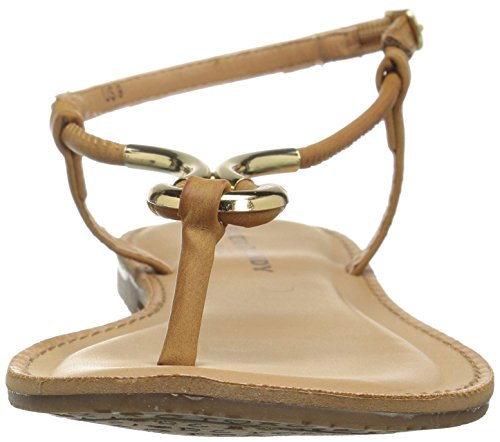 Bahati Tan Kvinners Stein Godteri Flat Sandal q6SO6gwE