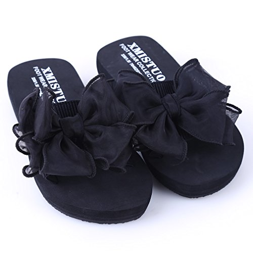 Cwait Girls Flower Beach Water Sandals Outdoor Slide Sandals