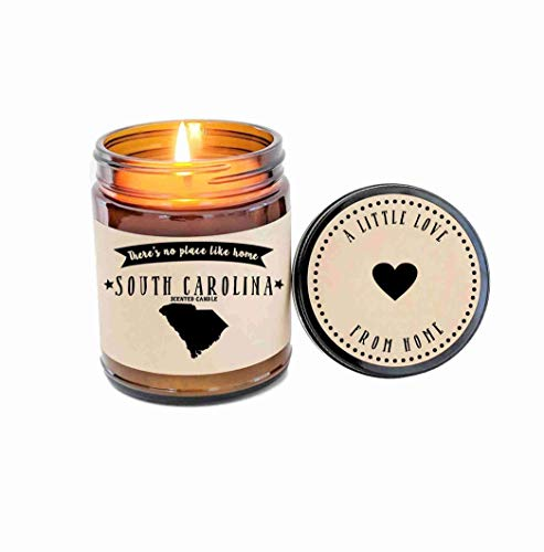 South Carolina Scented Candle State Candle Homesick Gift No Place Like Home Thinking of You Holiday Gift