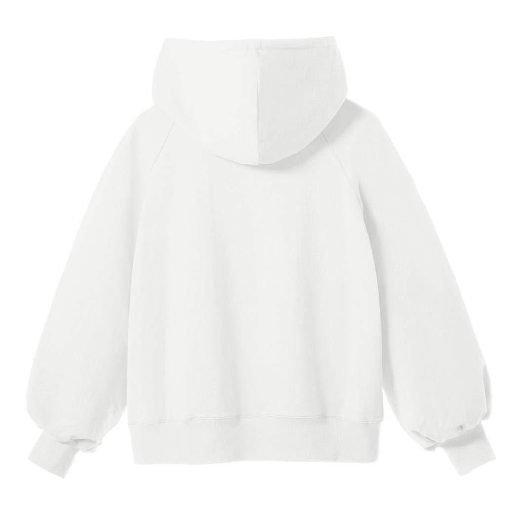 TOOPOOT Womens Sweatshirt,Ladies Long Sleeve Hoodie Sweatshirt Hooded Coat Pullover by TOOPOOT-Coat (Image #2)