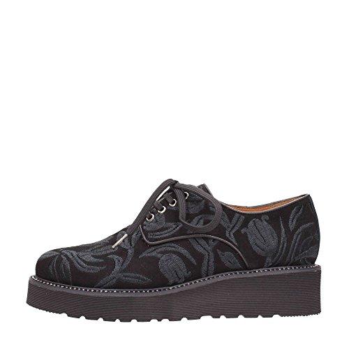 Pons Quintana 6149 Lace Shoes Frau Schwarz