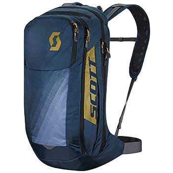 Image of Bike Racks & Bags Scott Trail Rocket EVO FR' 24 Bicycle Backpack Blue/Yellow