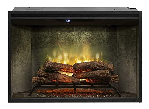 Best Buy DIMPLEX RBF36WC Revillusion 8794 BTU / 2575W 36 Inch Wide Built-in Vent-Free Electric Fireplace with Weathered Concrete Interior and Remote Control Reviews