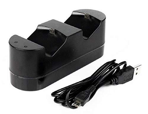 HaverCo PS4-Dockingstation für Playstation 4 / Ladestation für Controller + Micro-USB-Kabel