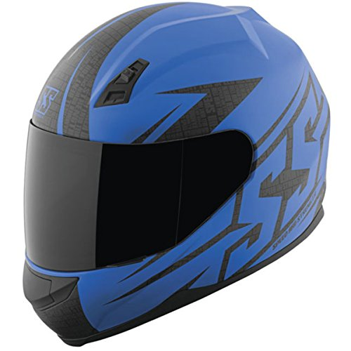 Speed & Strength SS700 Helmet - Hammer Down (Large) (Matte Blue)
