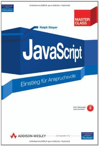 JavaScript. Einstieg für Anspruchsvolle