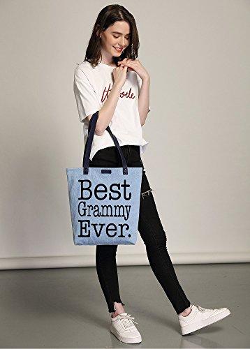 Azul Shopper Gift Shoulder Grammy Handbag Denim So'each Tote Bag Women's Best Dye wnHtqnxPzR