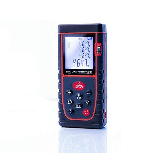 NATAMO Handheld Digital 100M/330ft Laser Distance Meter R...