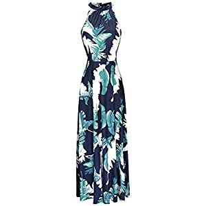 STYLEWORD Women's Off Shoulder Elegant Maxi Long Dress
