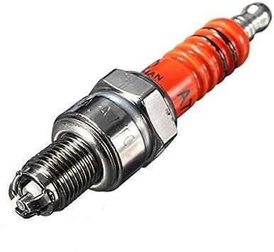 Candele di Accensione per Auto Elettrodo D8TC 3 per Moto 125 150 200cc CF250 CG6 125cc 150cc 200cc CF250 3 pezzi
