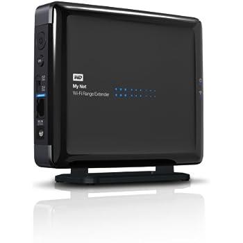 WD My Net Wi-Fi Range Extender - universal dual-band wireless network range extender