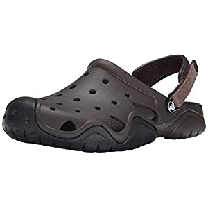 Crocs Men's Swiftwater Clog | Casual Lightweight Beach or Water Shoe