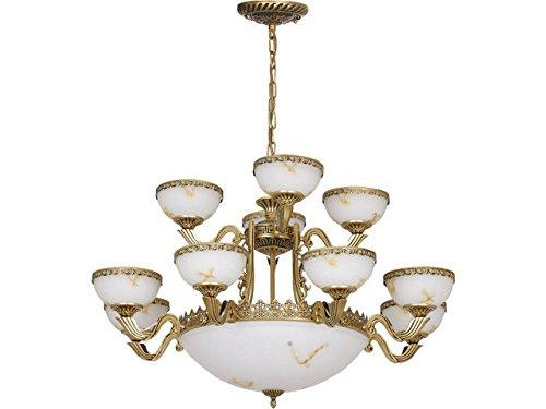 Lampadario stile Liberty/ottone anticato/lampadario Stile liberty ...