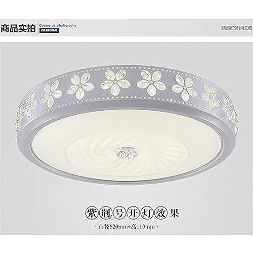 Angeelee Minimaliste, Cycle Plafonnier LED Salon Moderne Chambre Chambres  Sont Lumineuses Et Chaleureux Éclairage Le