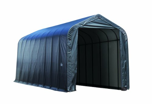 ShelterLogic Garage 16 x 36 x 16 Peak Standard Grey