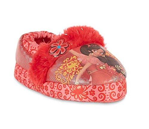 Disney Elena of Avalor 4 Piece Mix /& Match Toddler Girls Pajamas Plus Matching Slippers and Lip Gloss Set