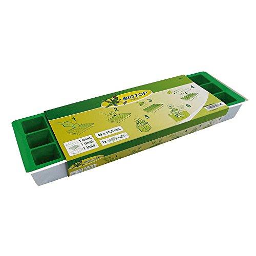 Biotop - Kit Semillero 27 Macetas Para Ventana ALTADEX S.A.