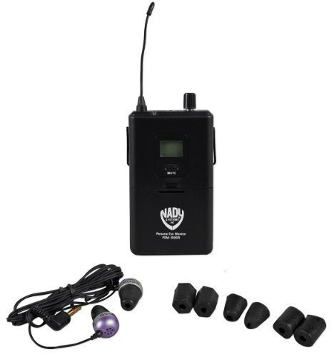 Nady PEM-1000R Portable Bodypack Receiver for PEM-1000 Wireless Monitor System With Auto-Scan And IR Sync