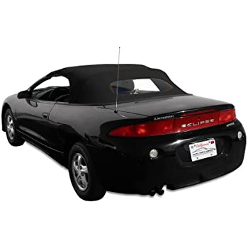 mitsubishi eclipse spyder convertible top 2000 2005 in cabrio grain vinyl with. Black Bedroom Furniture Sets. Home Design Ideas