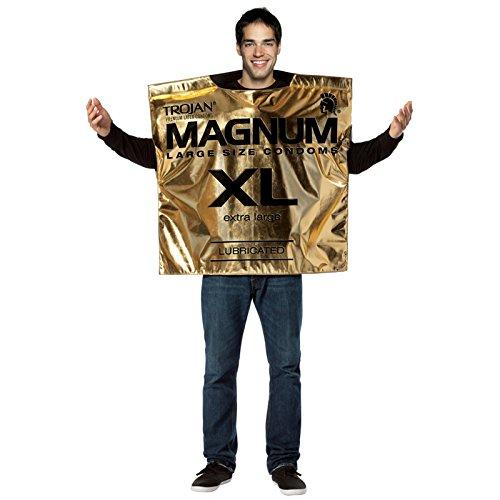 Magnum Condom Costume Adult Costume - One Size by Rasta Imposta