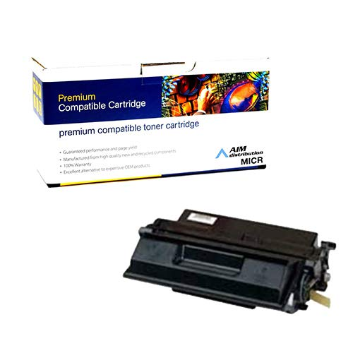 AIM Compatible MICR Replacement for Troy 02-81067-001 MICR Toner Cartridge (15000 Page Yield) - Compatible to IBM 38L1410 - Generic ()
