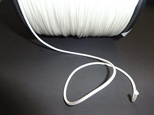 10 YARDS: 2.0mm Professional Traversing Cord (WHITE)/Vertical Blinds & Draperies