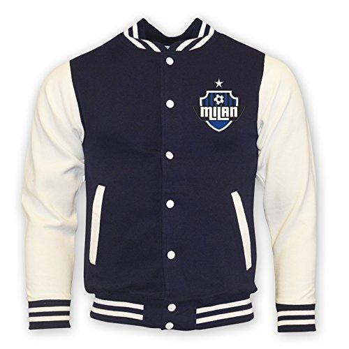 Inter Milan College Baseball Jacket (navy) B0785XN54M XL (45-48