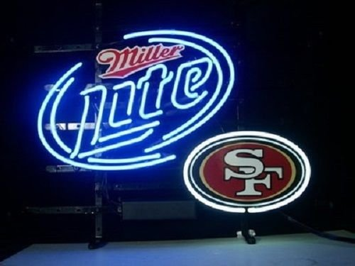San Francisco 49ers Neon Lamp (Desung Brand New 19