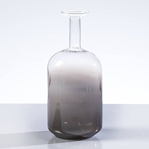 Flask Vase (Torre & Tagus 902591C Mika Smoke Mirror Mini Flask Vase, Tall)
