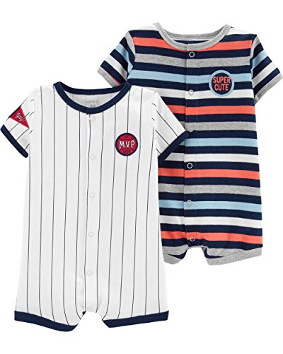 Carter's Baby Boys 2-Pack Snap-u...