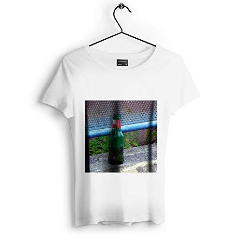 Westlake Art - Bottle Beer - Unisex Tshirt - Picture Photography Artwork Shirt - White Adult Medium (D41D8)