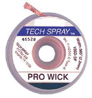 Pro-Wick Desoldering Braid - .098 x 5 Blue by Tech Spray
