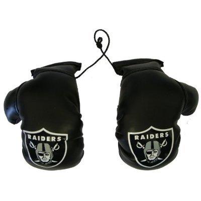 Fremont Die NFL Oakland Raiders Mini Boxing Gloves, 4