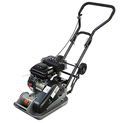 Dirty Hand Tools 1850 Pound Compaction Force Vibratory Plate Ground Compactor