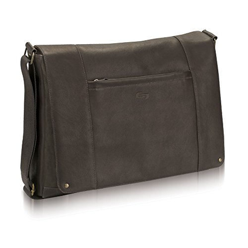 Information solo vintage leather messenger bag