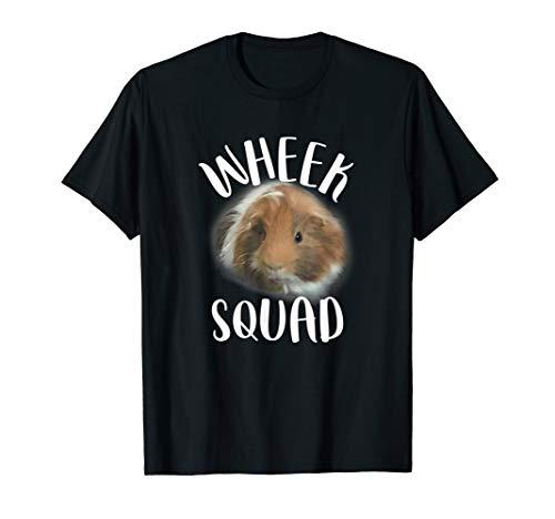 Guinea Pig Wheek Squad Cavy Lover Piggy Tee Shirt Gift