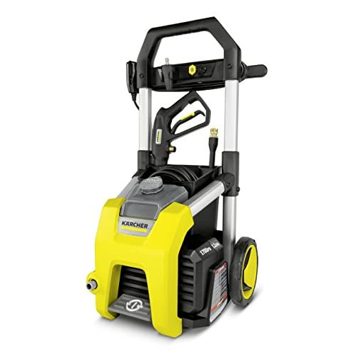 New Karcher K1700 Electric Power Pressure Washer 1700 PSI TruPressure, 3-Year Warranty, Turbo Nozzle Included for sale