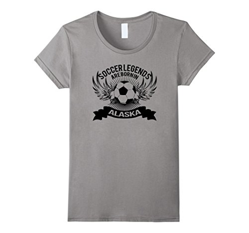 Womens Soccer Players in Alaska Legends T-shirt