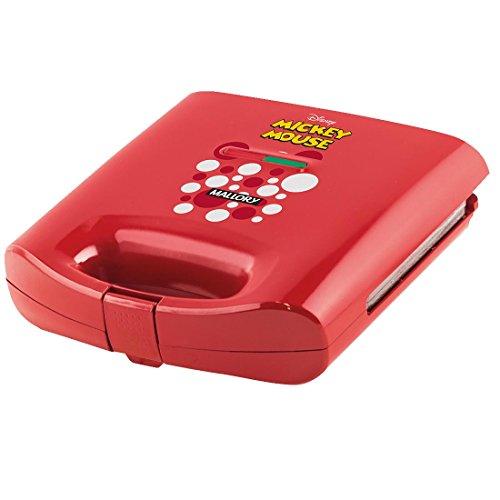 Sanduicheira Mickey Mouse Mallory 127V, Mallory B96800851, Vermelha, Mallory, B96800851, Vermelha