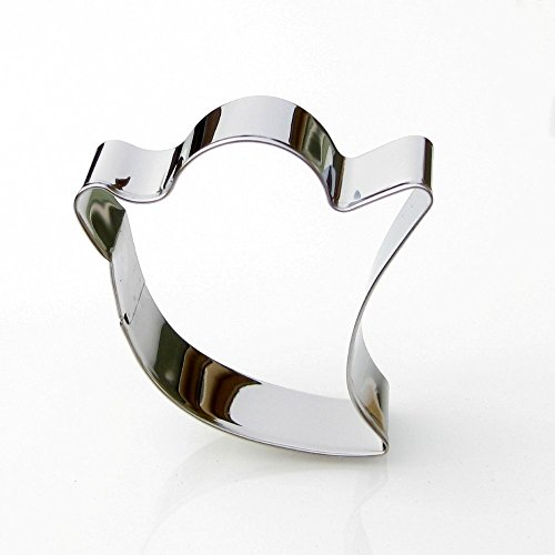 Ghost Cookie Cutter- Stainless Steel
