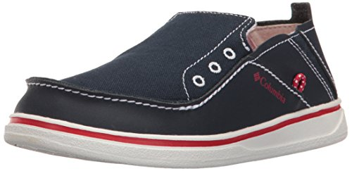 Columbia Jungen Youth Bahama Bootschuhe Blau (Collegiate Navy/mountain Red 464)