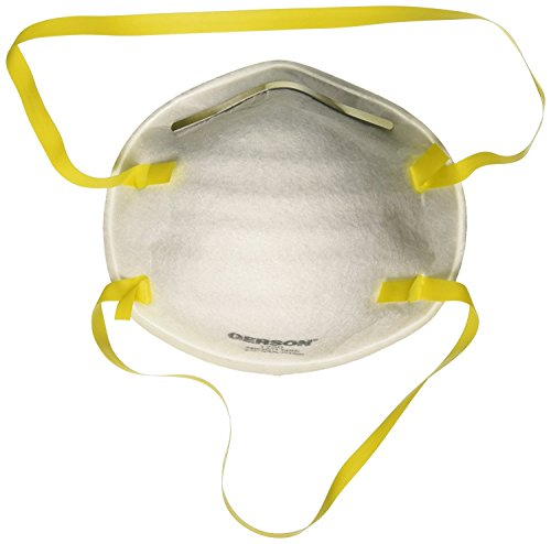 Gerson N95 Disposable Particulate Respirator Surgical Mask Without Valves (Pack of 20)