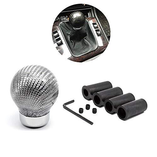Tasan Racing Universal Manual/Automatic Carbon Fiber Ball Gear Shifter Knob/Gear Shifter Level ()