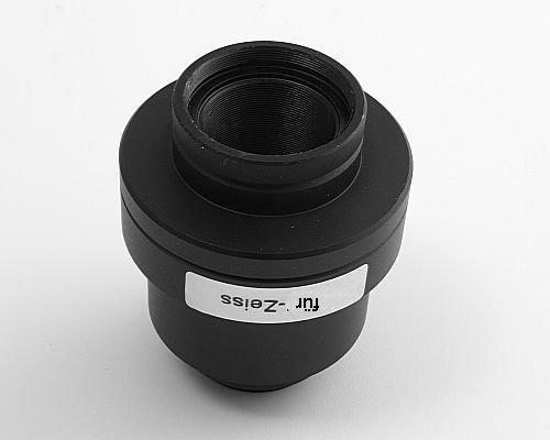 Mikroskop objektiv am kamera