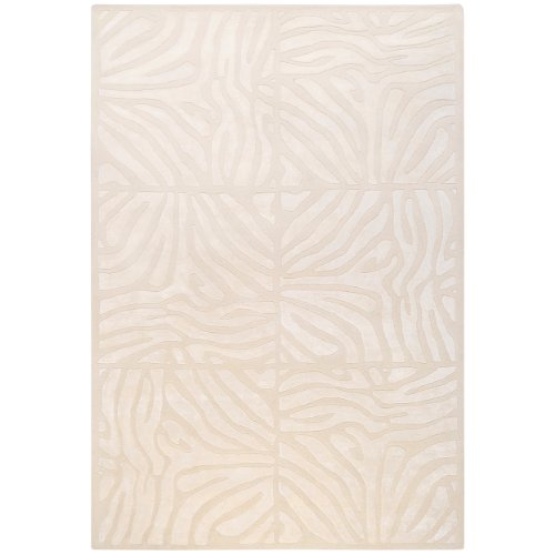 Candice Olson by Surya Modern Classics CAN-1933 Contemporary Hand Tufted 100% New Zealand Wool Winter White 9' x 13' Animal Area - Wayfair India To Shipping