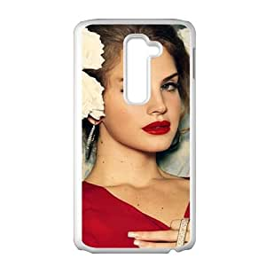 Happy Fantastic red sexy woman Cell Phone Case for LG G2
